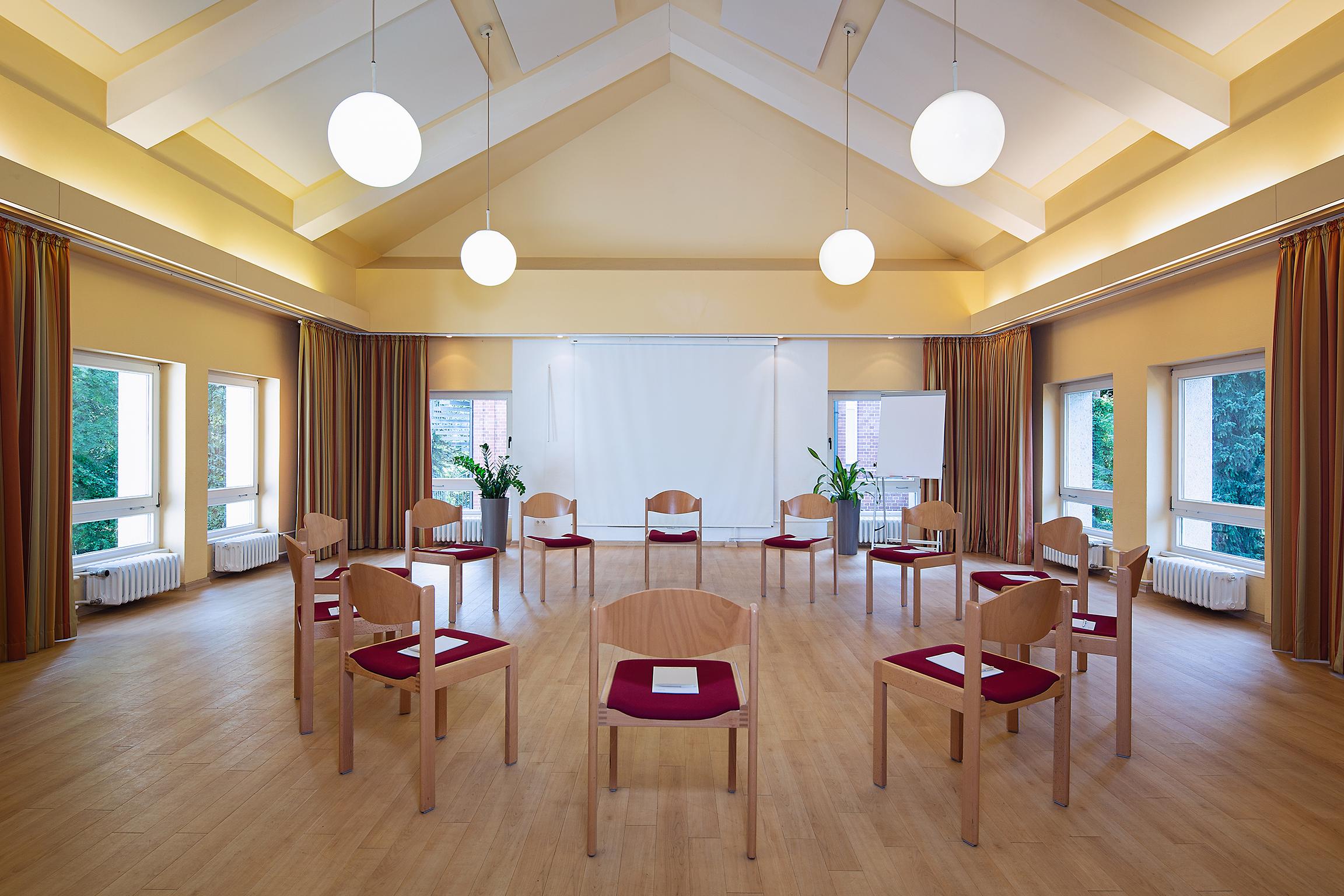 Konferenzraum Stuhlkreis Hotel Morgenland Berlin